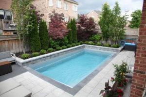 Oshawa fiberglass pool installation