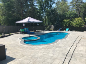 If Youre Looking For Industry Leading Salt Water Pool Installation Were Here You At Fiberglass We Offer The Finest Materials